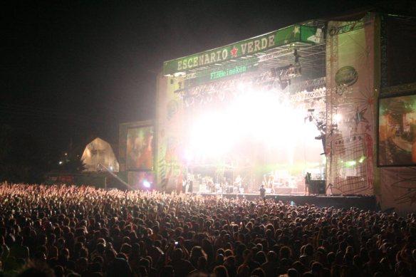 escenario verde heineken